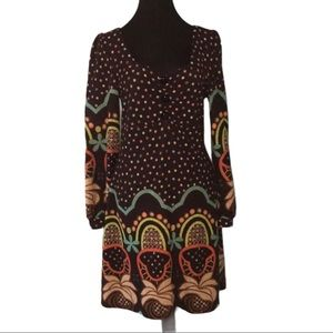 ❤️NWOT❤️ FUNKY PEOPLE BOHO FIT AND FLARE DRESS ~ M